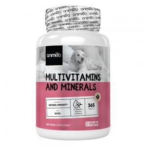 Multivitaminen en mineralen voor honden van Animigo